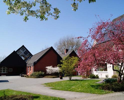Das Gemeindezentrum der Johannes Kirchengemeinde in Hattingen