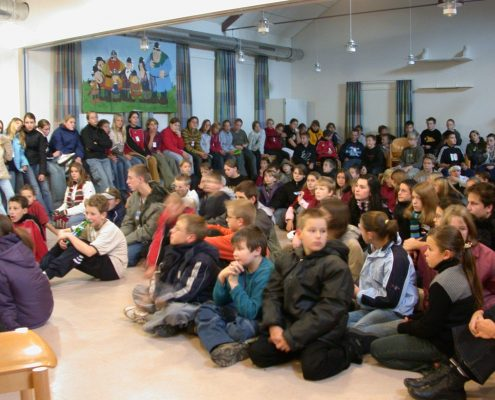 Konfis in Tönning 2003